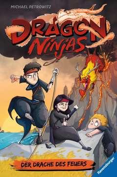 40519 Kinderliteratur Dragon Ninjas, Band 2: Der Drache des Feuers von Ravensburger 1