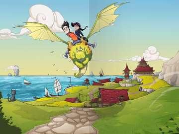 40519 Kinderliteratur Dragon Ninjas, Band 2: Der Drache des Feuers von Ravensburger 5