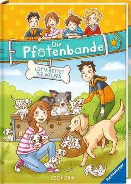 40604 Kinderliteratur Die Pfotenbande, Band 1: Lotta rettet die Welpen von Ravensburger 2