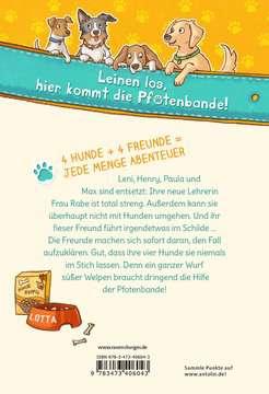 40604 Kinderliteratur Die Pfotenbande, Band 1: Lotta rettet die Welpen von Ravensburger 3