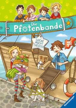 40605 Kinderliteratur Die Pfotenbande, Band 2: Socke macht Theater von Ravensburger 1