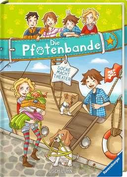 40605 Kinderliteratur Die Pfotenbande, Band 2: Socke macht Theater von Ravensburger 2