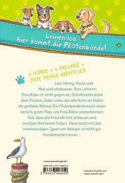 40605 Kinderliteratur Die Pfotenbande, Band 2: Socke macht Theater von Ravensburger 3