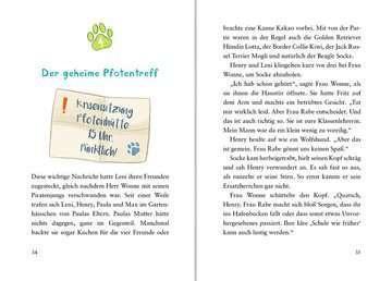 40605 Kinderliteratur Die Pfotenbande, Band 2: Socke macht Theater von Ravensburger 6