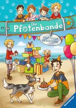 40606 Kinderliteratur Die Pfotenbande, Band 3: Kiwi feiert Geburtstag von Ravensburger 1