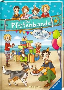 40606 Kinderliteratur Die Pfotenbande, Band 3: Kiwi feiert Geburtstag von Ravensburger 2