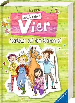 Die frechen Vier, Band 1 & 2: Abenteuer auf dem Sternenhof Kinderbücher;Kinderliteratur - Bild 2 - Ravensburger