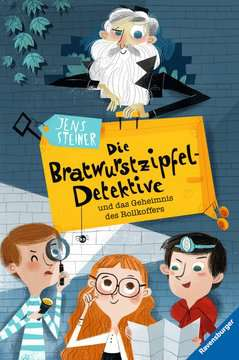 40817 Kinderliteratur Die Bratwurstzipfel-Detektive und das Geheimnis des Rollkoffers von Ravensburger 1