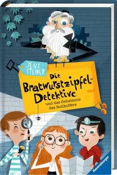40817 Kinderliteratur Die Bratwurstzipfel-Detektive und das Geheimnis des Rollkoffers von Ravensburger 2