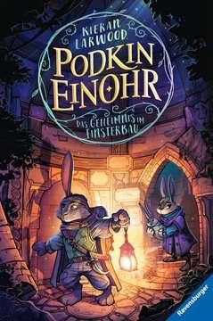 40822 Kinderliteratur Podkin Einohr, Band 2: Das Geheimnis im Finsterbau von Ravensburger 1