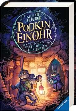 40822 Kinderliteratur Podkin Einohr, Band 2: Das Geheimnis im Finsterbau von Ravensburger 2