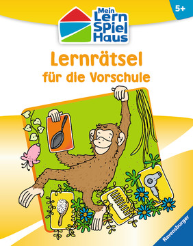 Lernrätsel für die Vorschule Kinderbücher;Lernbücher und Rätselbücher - Bild 1 - Ravensburger