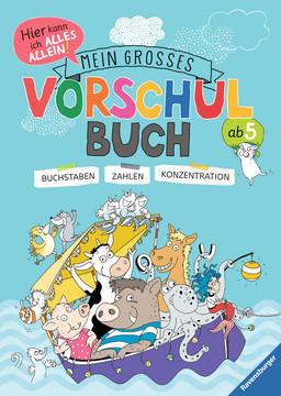 Mein großes Vorschulbuch Kinderbücher;Lernbücher und Rätselbücher - Bild 1 - Ravensburger