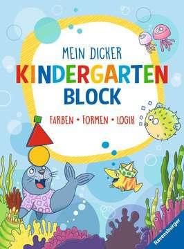 Mein dicker Kindergartenblock Kinderbücher;Lernbücher und Rätselbücher - Bild 1 - Ravensburger