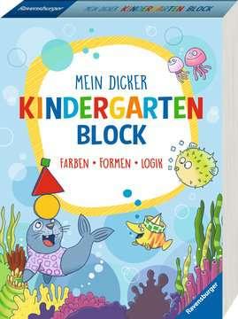 41550 Lernbücher und Rätselbücher Mein dicker Kindergartenblock von Ravensburger 2