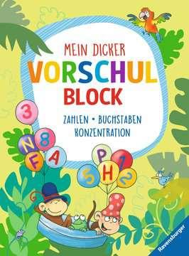 Mein dicker Vorschulblock Kinderbücher;Lernbücher und Rätselbücher - Bild 1 - Ravensburger