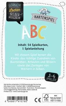 41579 Kinderspiele Kartenspiel ABC von Ravensburger 3