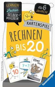 41580 Kinderspiele Kartenspiel Rechnen bis 20 von Ravensburger 1