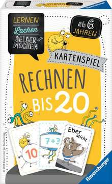 41580 Kinderspiele Kartenspiel Rechnen bis 20 von Ravensburger 2