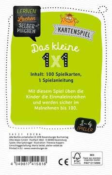 41581 Kinderspiele Kartenspiel Das kleine 1x1 von Ravensburger 3