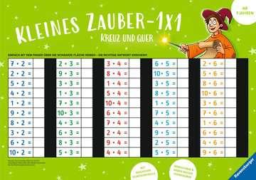 41584 Lernbücher und Rätselbücher Kleines Zauber-1x1: Kreuz und quer von Ravensburger 1