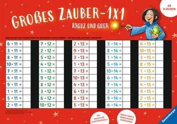 41586 Lernbücher und Rätselbücher Großes Zauber-1x1: Kreuz und quer von Ravensburger 1