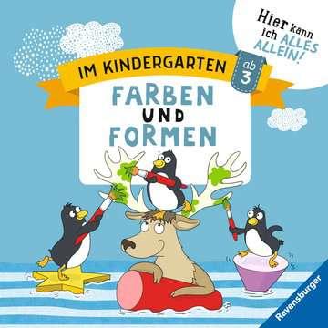 41587 Lernbücher und Rätselbücher Im Kindergarten: Farben und Formen von Ravensburger 1