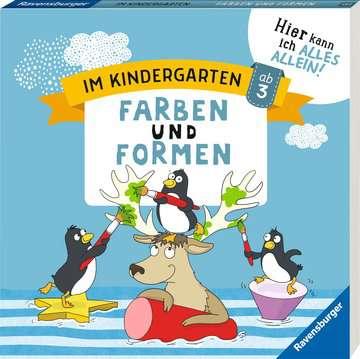 41587 Lernbücher und Rätselbücher Im Kindergarten: Farben und Formen von Ravensburger 2