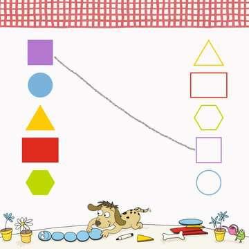 41587 Lernbücher und Rätselbücher Im Kindergarten: Farben und Formen von Ravensburger 4