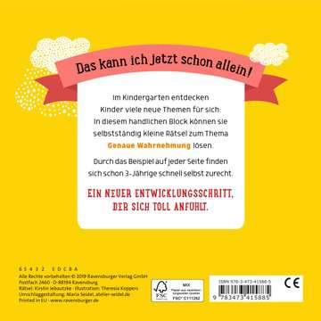 Im Kindergarten: Genau schauen Kinderbücher;Lernbücher und Rätselbücher - Bild 3 - Ravensburger