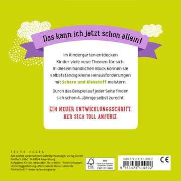 41589 Lernbücher und Rätselbücher Im Kindergarten: Schneiden und Kleben von Ravensburger 3
