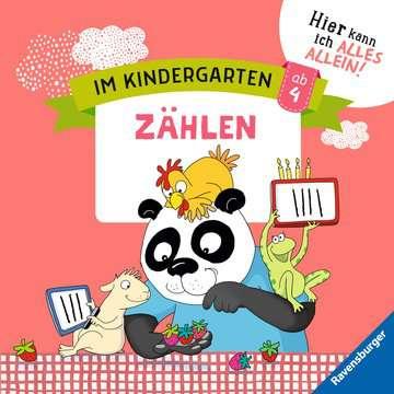 41590 Lernbücher und Rätselbücher Im Kindergarten: Zählen von Ravensburger 1