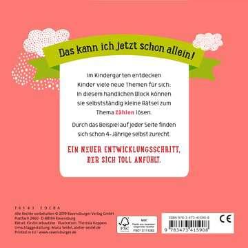 41590 Lernbücher und Rätselbücher Im Kindergarten: Zählen von Ravensburger 3