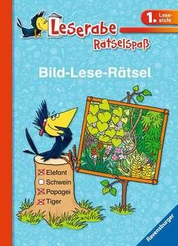 41591 Lernbücher und Rätselbücher Bild-Lese-Rätsel (1. Lesestufe) von Ravensburger 1