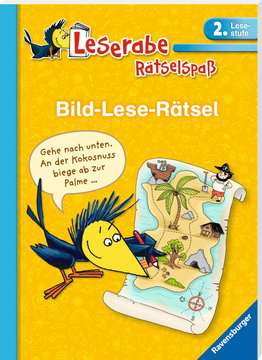 41592 Lernbücher und Rätselbücher Bild-Lese-Rätsel (2. Lesestufe) von Ravensburger 2