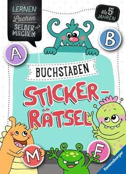 Buchstaben-Sticker-Rätsel Kinderbücher;Lernbücher und Rätselbücher - Bild 1 - Ravensburger