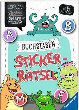 Buchstaben-Sticker-Rätsel Kinderbücher;Lernbücher und Rätselbücher - Bild 2 - Ravensburger