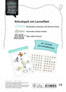 41593 Lernbücher und Rätselbücher Buchstaben-Sticker-Rätsel von Ravensburger 3