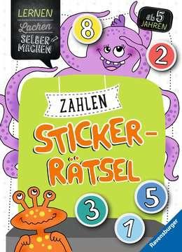 41594 Lernbücher und Rätselbücher Zahlen-Sticker-Rätsel von Ravensburger 1