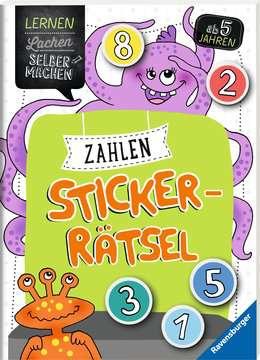 41594 Lernbücher und Rätselbücher Zahlen-Sticker-Rätsel von Ravensburger 2