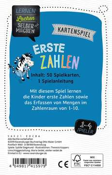 41597 Kinderspiele Kartenspiel Erste Zahlen von Ravensburger 3
