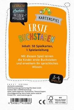 Kartenspiel Erste Buchstaben Lernen und Fördern;Lernspiele - Bild 3 - Ravensburger