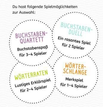 Kartenspiel Erste Buchstaben Lernen und Fördern;Lernspiele - Bild 8 - Ravensburger