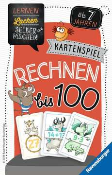 41599 Kinderspiele Kartenspiel Rechnen bis 100 von Ravensburger 1