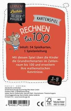 41599 Kinderspiele Kartenspiel Rechnen bis 100 von Ravensburger 3