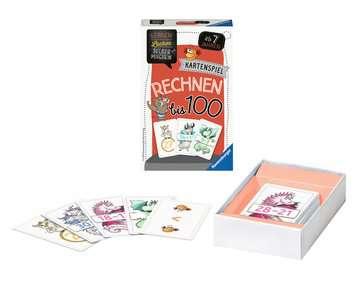 41599 Kinderspiele Kartenspiel Rechnen bis 100 von Ravensburger 8