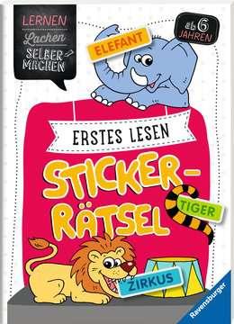 41604 Lernbücher und Rätselbücher Erstes Lesen Sticker-Rätsel von Ravensburger 2