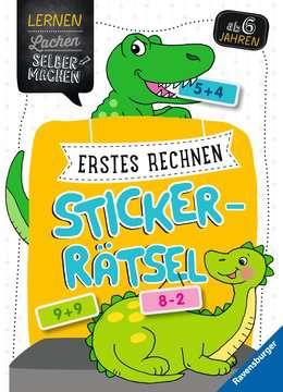 41605 Lernbücher Erstes Rechnen Sticker-Rätsel von Ravensburger 1