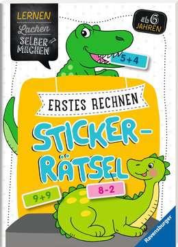 41605 Lernbücher Erstes Rechnen Sticker-Rätsel von Ravensburger 2