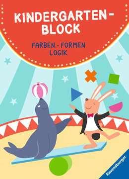 41606 Lernbücher und Rätselbücher Kindergartenblock von Ravensburger 1